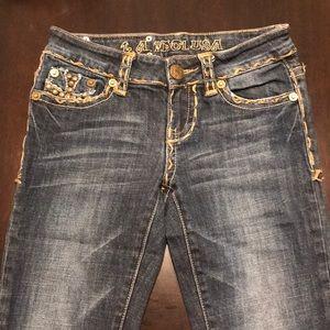 Studded LA Idol Jeans - Size 3 (worn once!)
